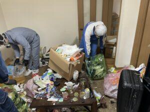 ゴミ屋敷,特殊清掃